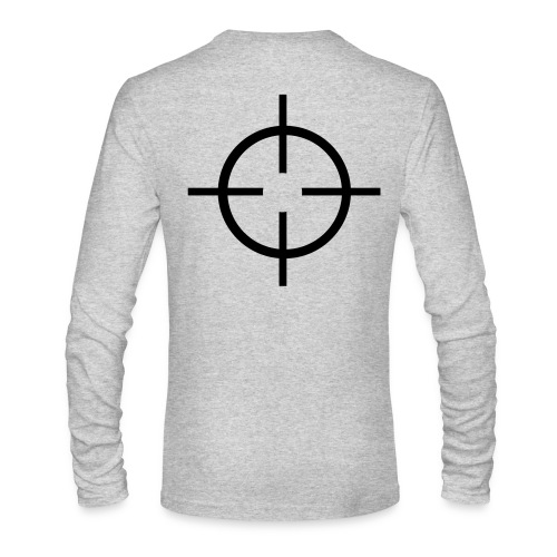 target - Men's Long Sleeve T-Shirt by Next Level