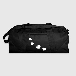unique hearts pattern love vector - Duffel Bag