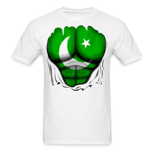Pakistan Men Shirt without Many Men Logos - Men's T-Shirt