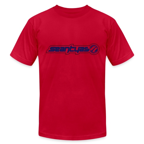 2 Color Logo T - Men's T-Shirt by American Apparel