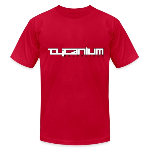 Tytanium Recordings 2-color Logo Tee (Selectable Colors) - Men's Fine Jersey T-Shirt