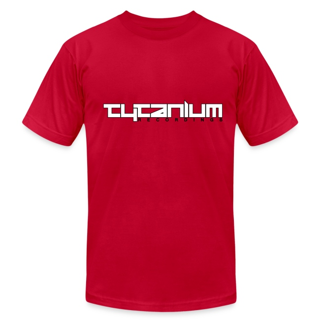 Tytanium Recordings 2-color Logo Tee (Selectable Colors)