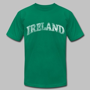 Distressed Ireland Arch - Men's T-Shirt by American Apparel