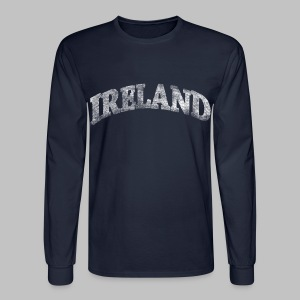 Distressed Ireland Arch - Men's Long Sleeve T-Shirt