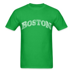 Distressed Boston Arch - Men's T-Shirt