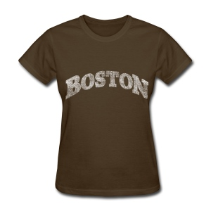 Distressed Boston Arch - Women's T-Shirt