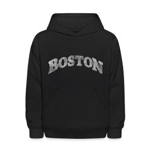 Distressed Boston Arch - Kids' Hoodie