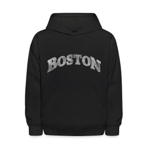 Distressed Boston Arch - Kids' Hoodie