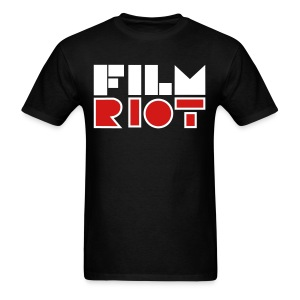Film Riot Men's Black Tee - Men's T-Shirt
