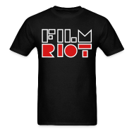 T-Shirts ~ Men's T-Shirt ~ Film Riot Men's Black Tee