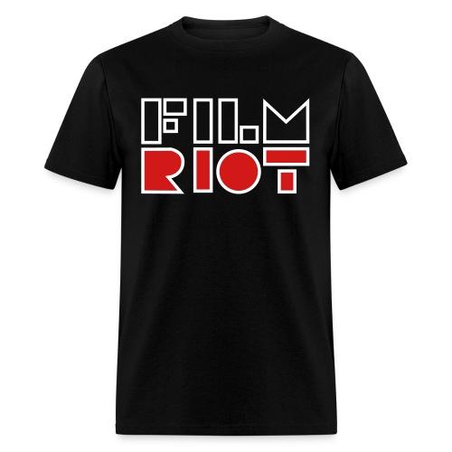 Film Riot Men's Black Tee - Men's T-Shirt