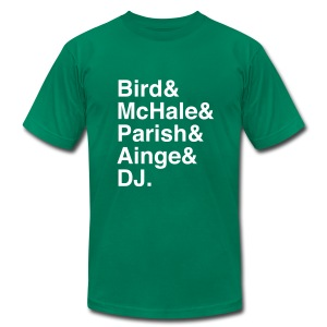 Boston Celtics 1986 - Men's T-Shirt by American Apparel