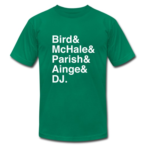 Boston Celtics 1986 - Men's Fine Jersey T-Shirt