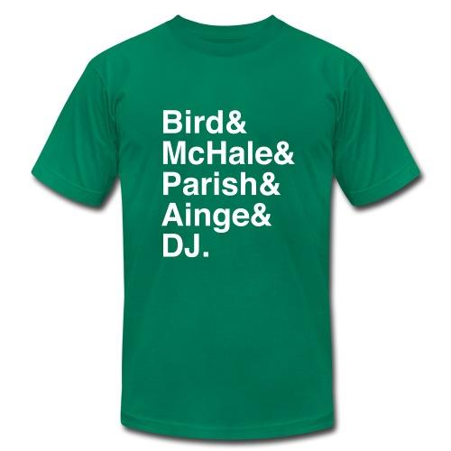 Boston Celtics 1986 - Men's Fine Jersey T-Shirt