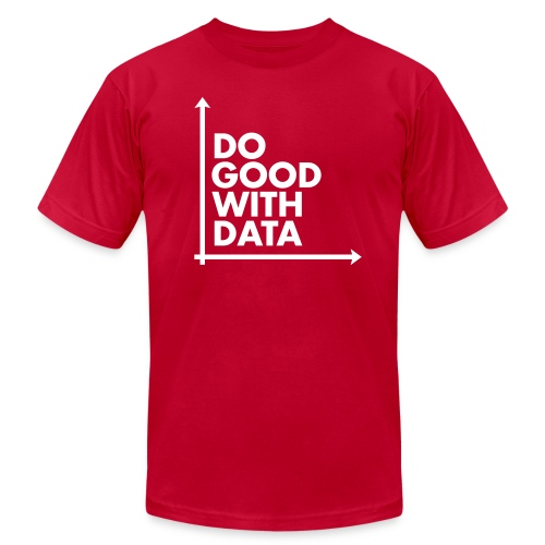 Do Good With Data Axis - Men's Fine Jersey T-Shirt