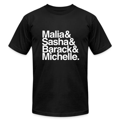 Obamas - Men's Fine Jersey T-Shirt