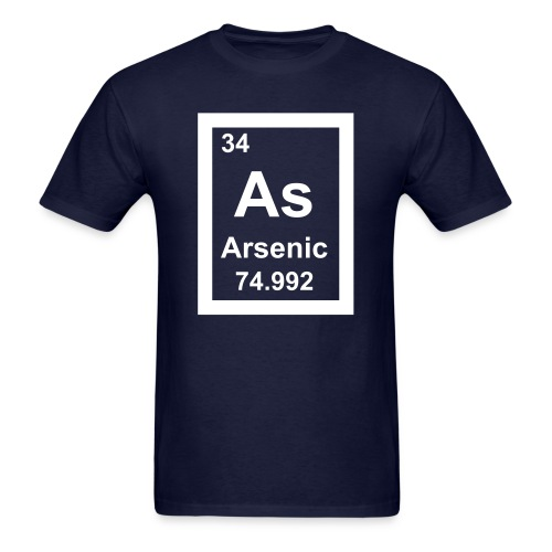 Arsenic - Men's T-Shirt