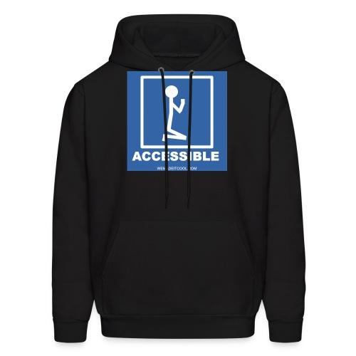 Accessible Mens Hoodie - Men's Hoodie