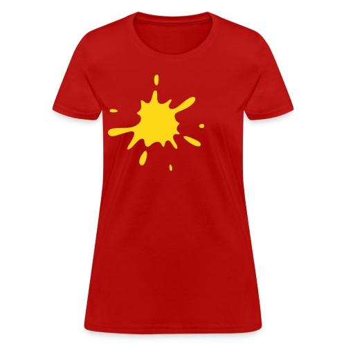 Mimimalist Splash - Women's T-Shirt