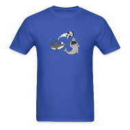 T-Shirts ~ Men's T-Shirt ~ Party Sharks Shirt