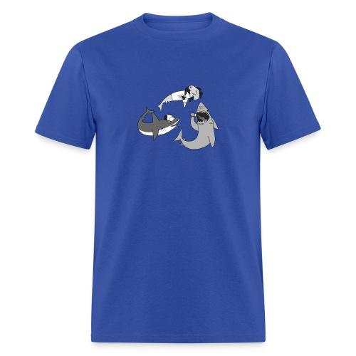 Party Sharks Shirt - Men's T-Shirt