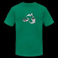 T-Shirts ~ Men's T-Shirt by American Apparel ~ Party Sharks Shirt