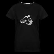 T-Shirts ~ Women's V-Neck T-Shirt ~ Party Sharks Shirt