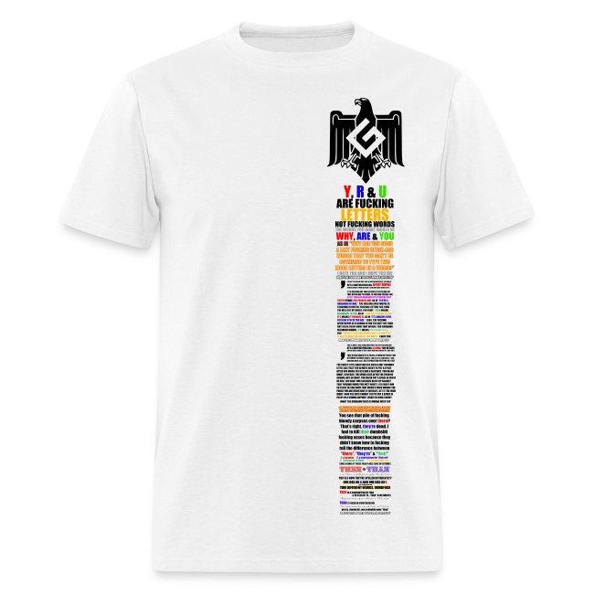 Grammar Nazi Informational T-Shirt