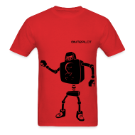 T-Shirts ~ Men's T-Shirt ~ Heavy Robot Overlord