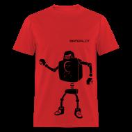 T-Shirts ~ Men's T-Shirt ~ Heavy Robot Overlord