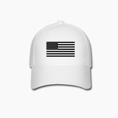 American Flag Subdued reverse hat