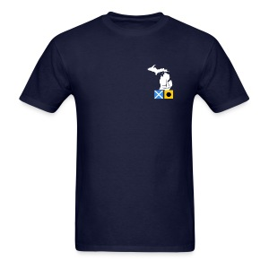MICHIGAN FLAGS - Men's T-Shirt