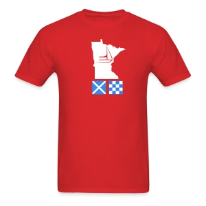 Minnesota Flags - Men's T-Shirt