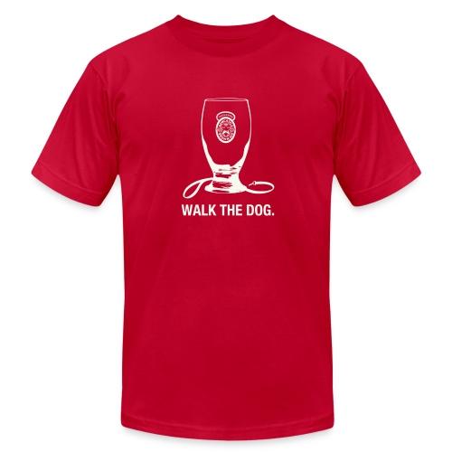 Newcastle T-Shirt: Walk the Dog - Men's Fine Jersey T-Shirt