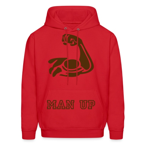 Man up - Men's Hoodie