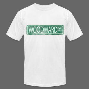 Woodward Ave. - Men's T-Shirt by American Apparel