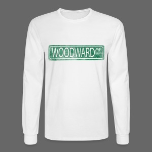 Woodward Ave. - Men's Long Sleeve T-Shirt