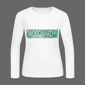 Woodward Ave. - Women's Long Sleeve Jersey T-Shirt