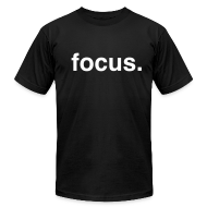 T-Shirts ~ Men's T-Shirt by American Apparel ~ Focus