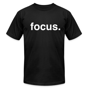 Focus - Men's T-Shirt by American Apparel