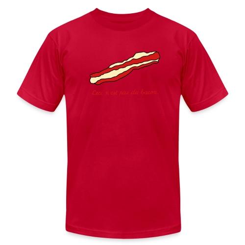 The Treachery of Bacon - Men's Fine Jersey T-Shirt