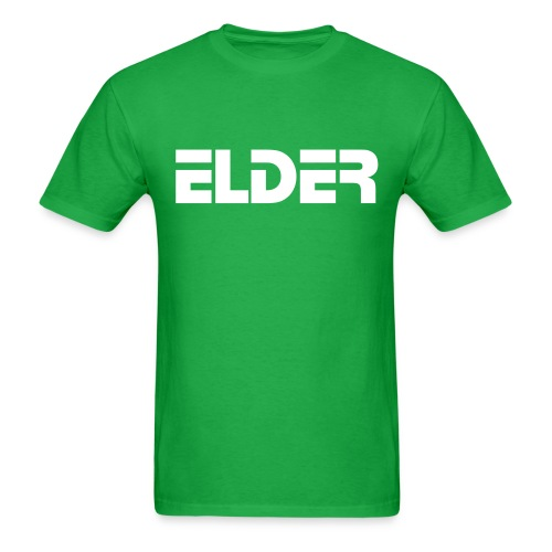 Men's Standard Weight Green Elder Tee - Men's T-Shirt