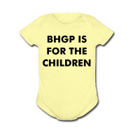 Baby Bodysuits ~ Baby Short Sleeve One Piece ~ BHGP IS FOR THE CHILDREN - Gold