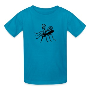 t-shirt mosquito gnat midge insect blood vampire bat - Kids' T-Shirt