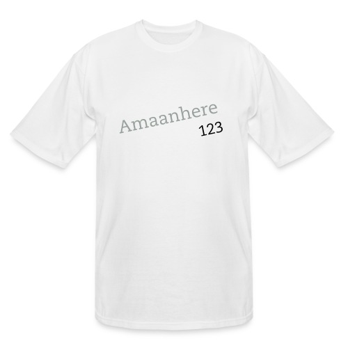 Amaanhere123(2) - Men's Tall T-Shirt