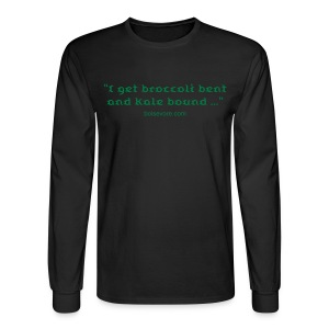 Spinach bent, Kale bound - Men's Long Sleeve T-Shirt