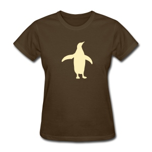 t-shirt penguin bird swim south pole dive flightless - Women's T-Shirt
