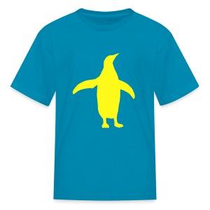 t-shirt penguin bird swim south pole dive flightless - Kids' T-Shirt