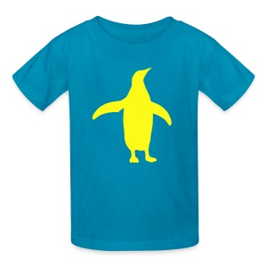 t-shirt penguin bird swim south pole dive flightless - Kids' T-Shirt