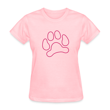 lynx cat cougar paw cheetah animal track hunt hunter hunting Women's T-Shirts
